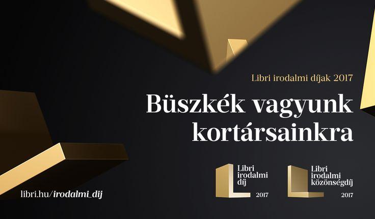 Első alkalommal tavaly adták át a Libri irodalmi díjat, amellyel az előző év legjobb szép- és tényirodalmi könyveit ismerik el (2016-ban az irodalmi díjat Rakovszky Zsuzsa, az irodalmi közönségdíjat Bartis Attila kapta). A 2016-ban megjelent, a díj követelményeinek megfelelt 132 tény- és…