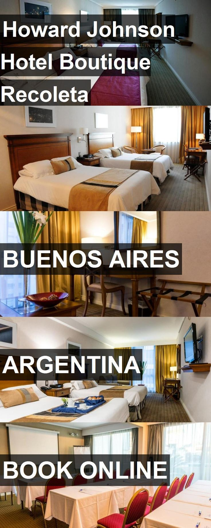 Howard Johnson Hotel Boutique Recoleta in Buenos Aires, Argentina. For more information, photos, reviews and best prices please follow the link. #Argentina #BuenosAires #travel #vacation #hotel