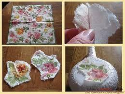Картинки по запросу декупаж винтажными розами картона по шагово с фото