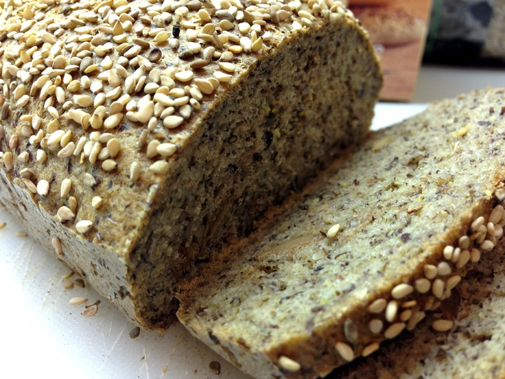 Low carb gluten free protein bread - high in fiber. Made with pea protein and a really good alternative to bread.