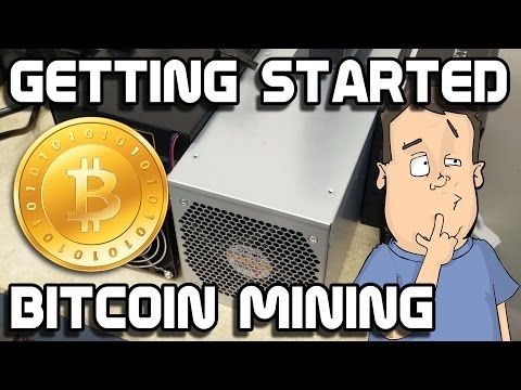Getting started BitCoin mining using ASIC mining hardware - YouTube