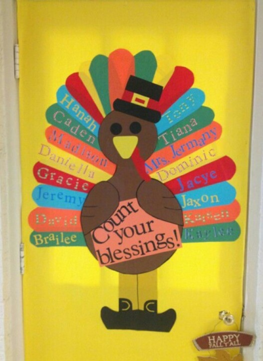 A coworker's classroom door. Designed by @JenniferWalkerLoomis