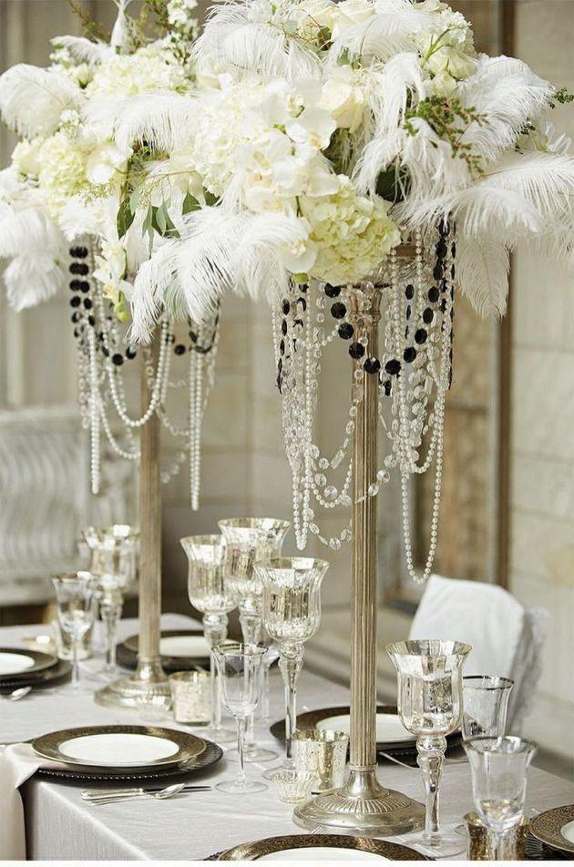 50 great gatsby wedding theme ideas 21