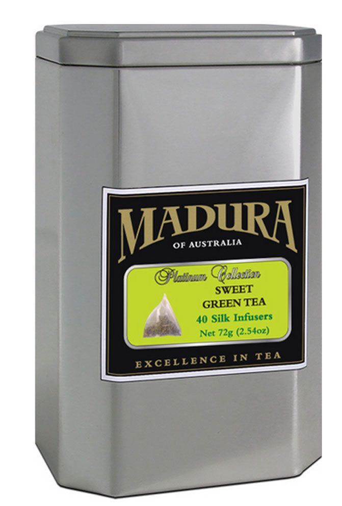 Mandura of Australia - Sweet Green Tea. Enjoy the goodness of drinking green tea anytime of the day.