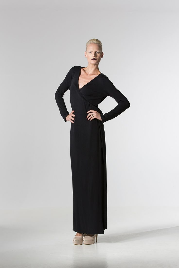 The @ sallyannproven Jersey Wrap Dress http://spencerclothing.com