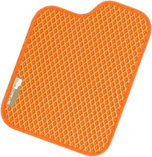 Автомобильные коврики EVA-DRIVE, оранжевый цвет