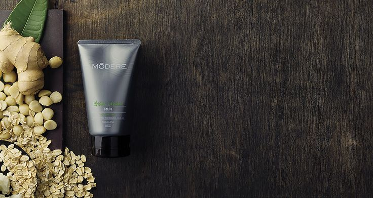 Our Men's Shaving Cream is formulated with ultra-moisturizing ingredients like ginger, shea and macadamia oils.
