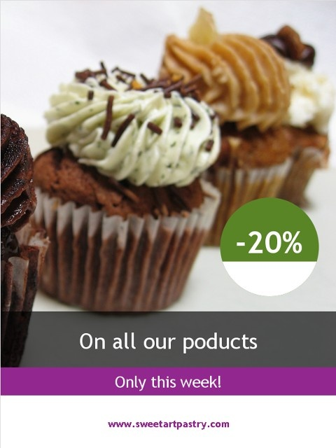 Don't forget about this week special discount for our Fans.