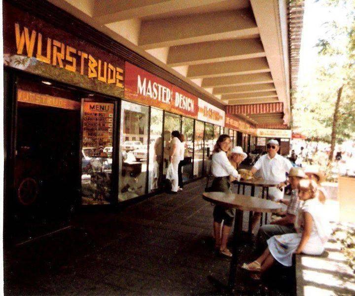 Wurstbude - Pretoria Street Hillbrow 1981