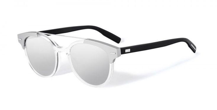 Blacktie220s avec des inserts en aluminium brossé de Dior Homme #dior #sunglasses #lunettes