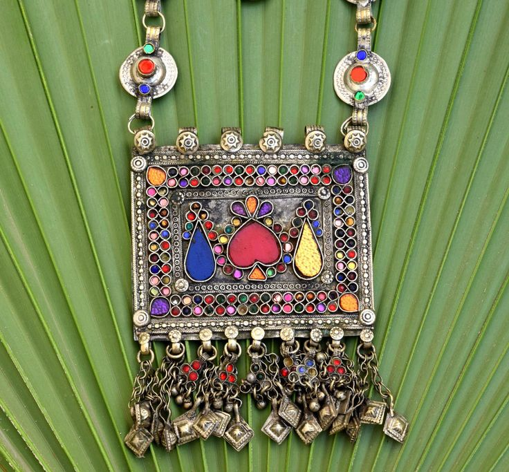 507 best afghan kuchi turkmen tribal ethnic jewelry images on pinterest big vintage afghan kuchi pendant necklace ethnic tribal chain jewelry boho dance aloadofball Gallery