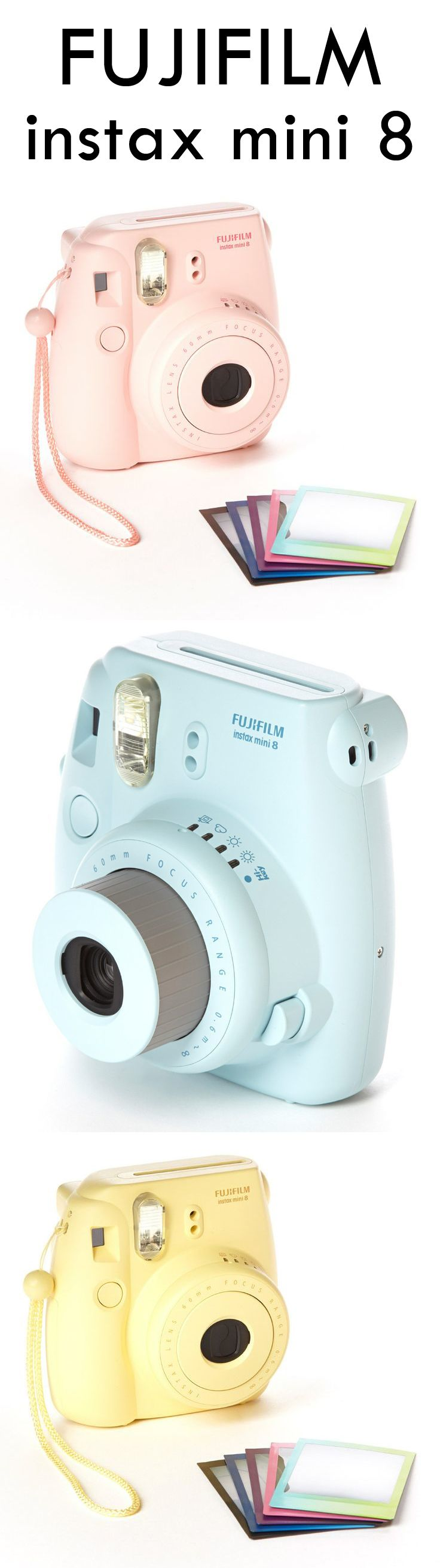 Cute Camera: Fujifilm Instax Mini 8 Camera - a cute gift idea!!