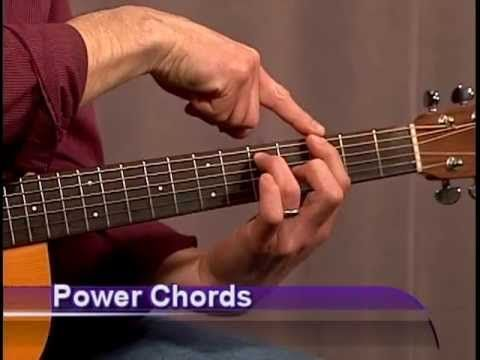 Beginner Guitar Power Chords - because i cant remember anything