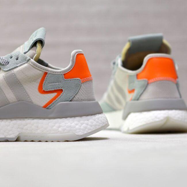 adidas nite jogger gris orange