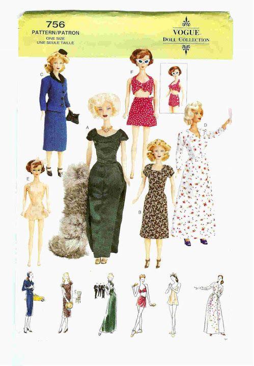 Free Copy of Pattern - Vogue 0756: