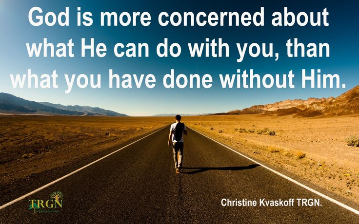 Why not let God show you what He is able to do with your life ?  God needs everyone, regardless of you past… Christine TRGN.