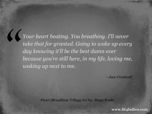 Title: Fever (Breathless Trilogy #1) Author: Maya Banks
