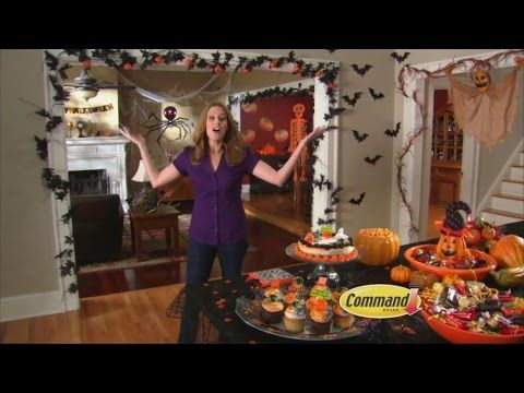 tv commercial spot command clear peel press hooks super strong tv commercialshalloween decorationshooks - Commercial Halloween Decorations