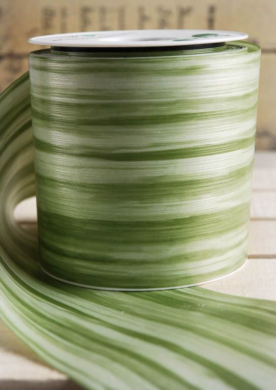 Aspidistra Decor Green Leaf Ribbon Lyraediss Waterproof Ribbon 4 Quot Wide X 28yds Leaves And