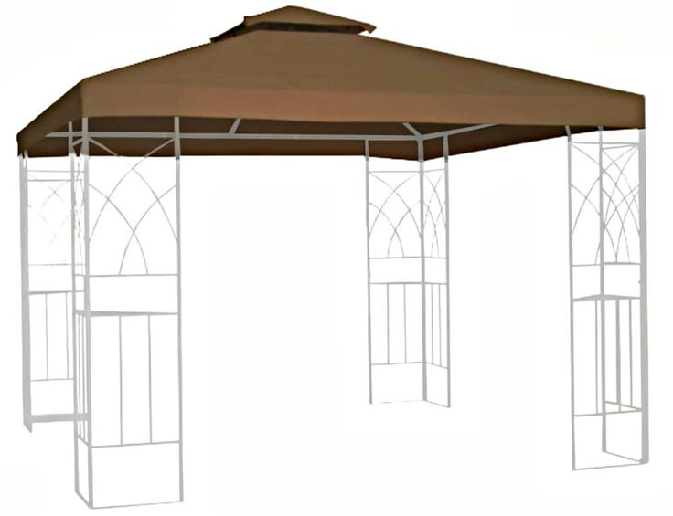 Gazebo Canopies 10 x 10 Replacement Canopy Tent Outdoor Patio Garden Shade New #Unbranded