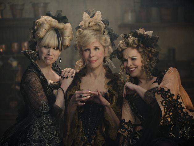 Lucy Punch, Christine Baranski and Tammy Blanchard