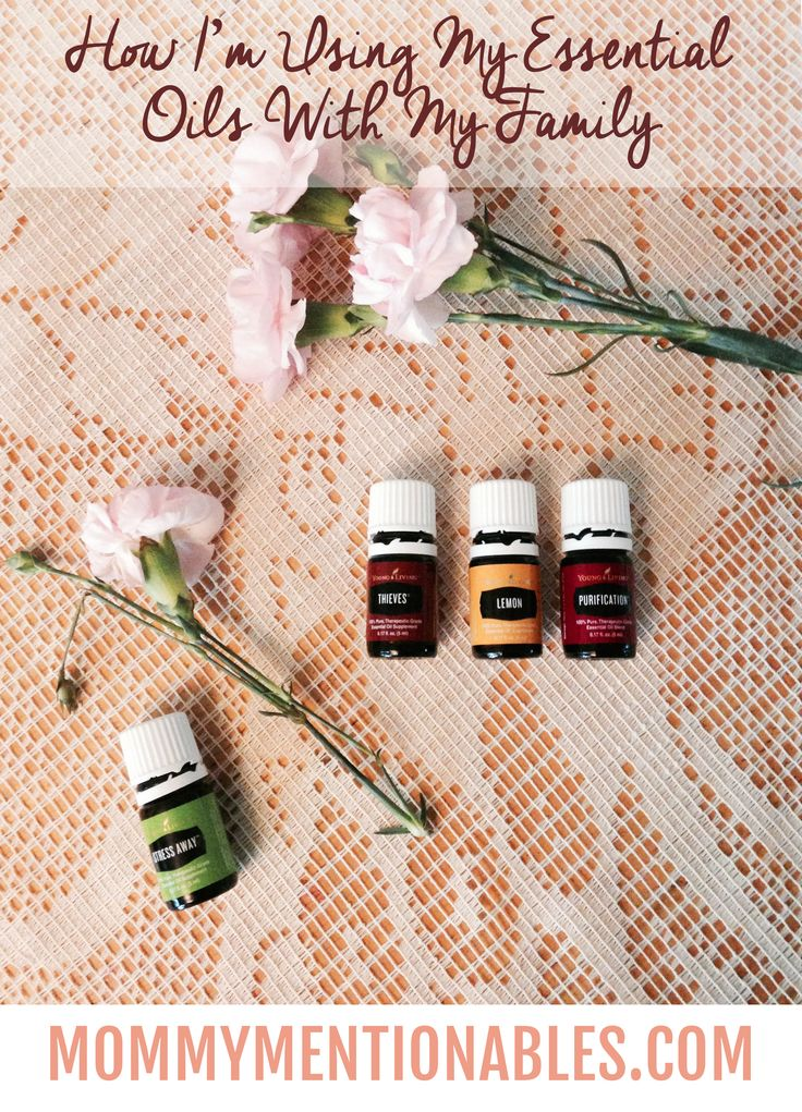 How I'm Using My Essential Oils with my Family. #essentialoils #healthyliving