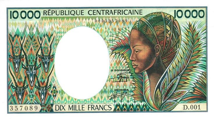 Central African Republic Banknotes