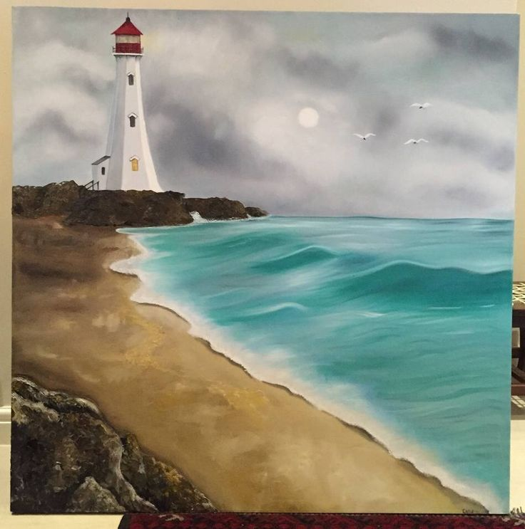 A lighthouse for my parents...by Cathi