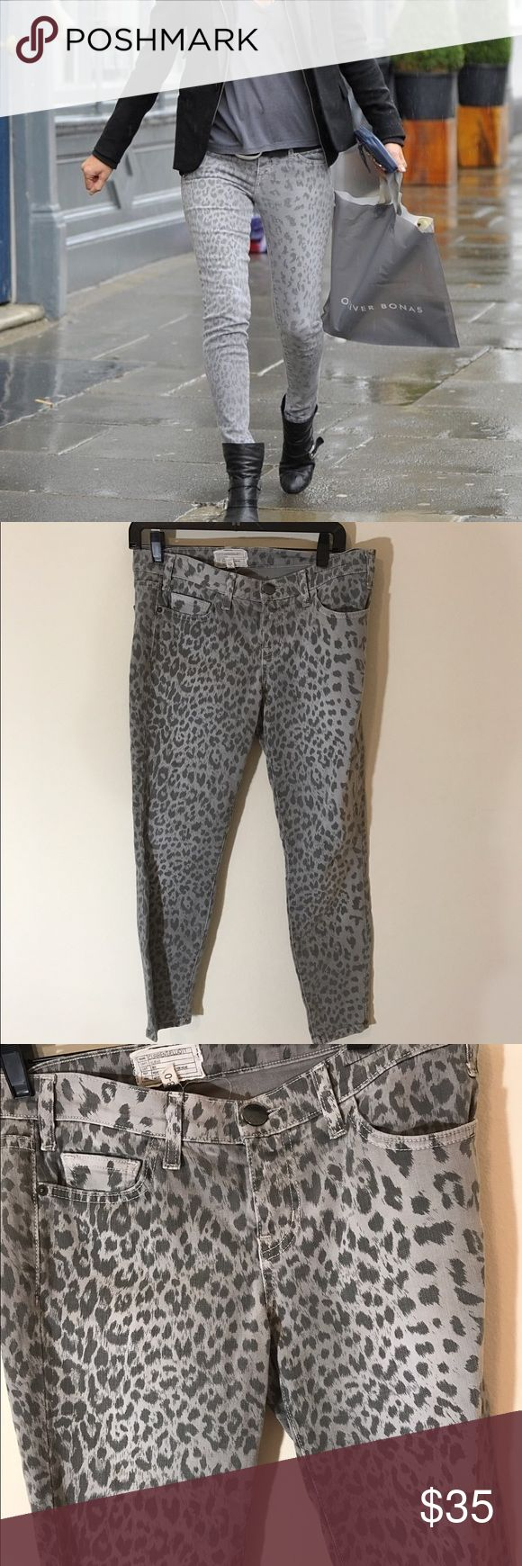 Current elliot printed skinnies In excellent condition! No signs of wear or damage. Super cute! Current/Elliott Jeans