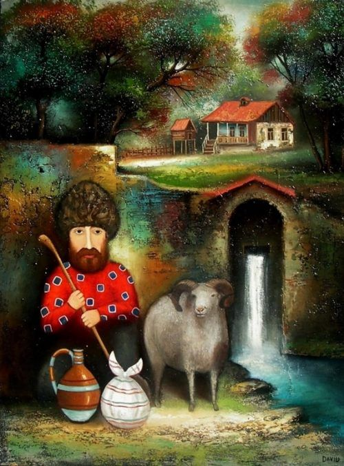 работы Давида Мартиашвили