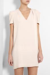nude puff sleeve tunic dress ++ vanessa bruno