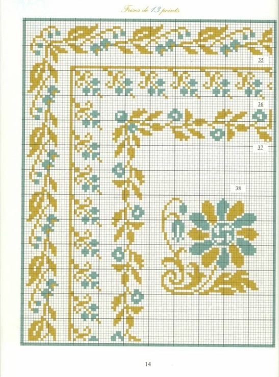 Borders in cross stitch 5