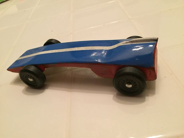 My 7 year old and I built this car with the help of the Scout Store here in Georgia. We talked about the shape and traced the outline but the Boy Scout store was doing a workshop they cut the car d…