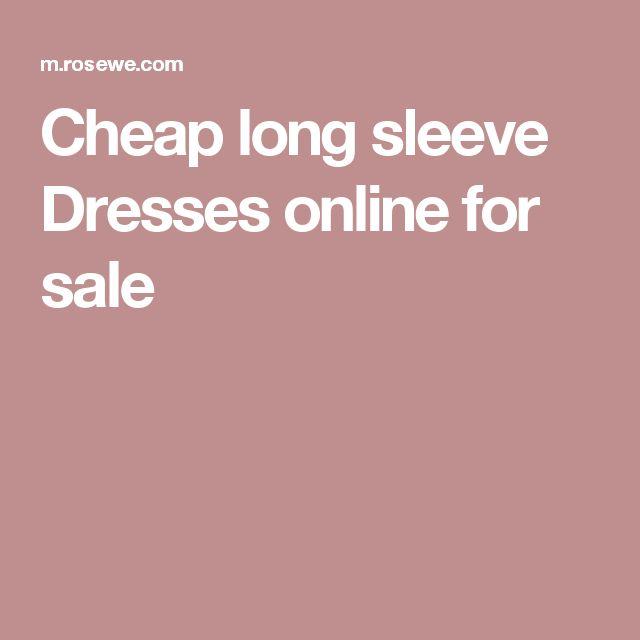 Cheap long sleeve Dresses online for sale