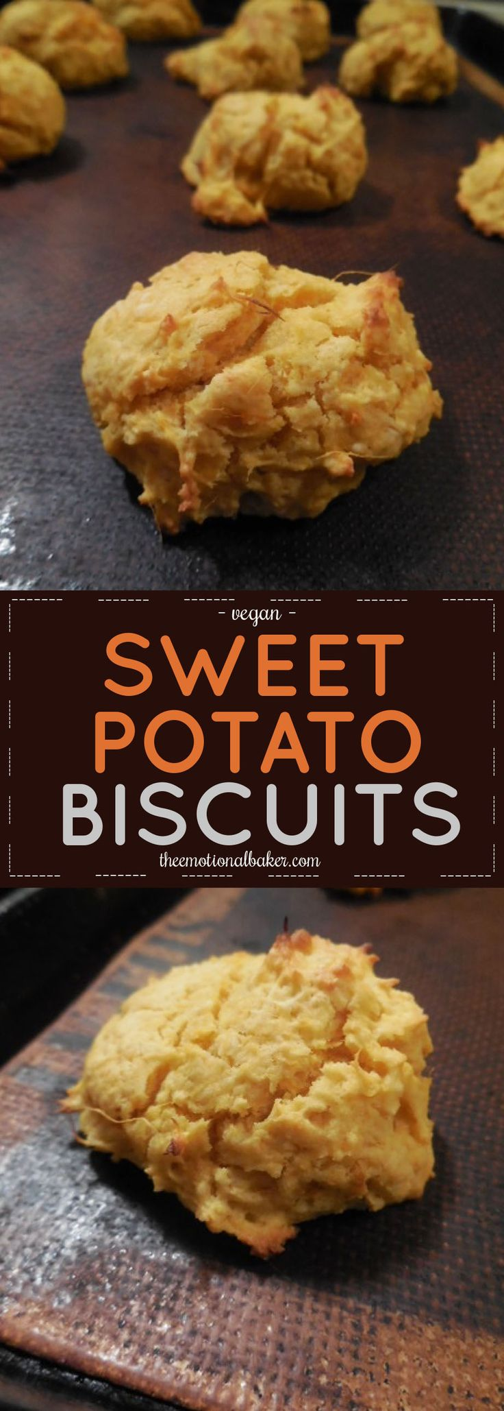Easy, vegan sweet potato biscuit recipe perfect for pairing with soup ...