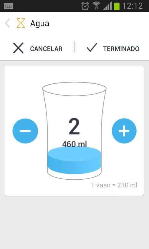 Sabías que mantenerte hidratado es muy importante cuando adoptamos un estilo de vida saludable y especialmente cuando el objetivo es la pérdida de peso? Es recomendable que controles tu ingesta diaria de agua. Utiliza el botón + en la pantalla de Inicio de tu aplicación Magra y haz clic para registrar tu consumo de agua.