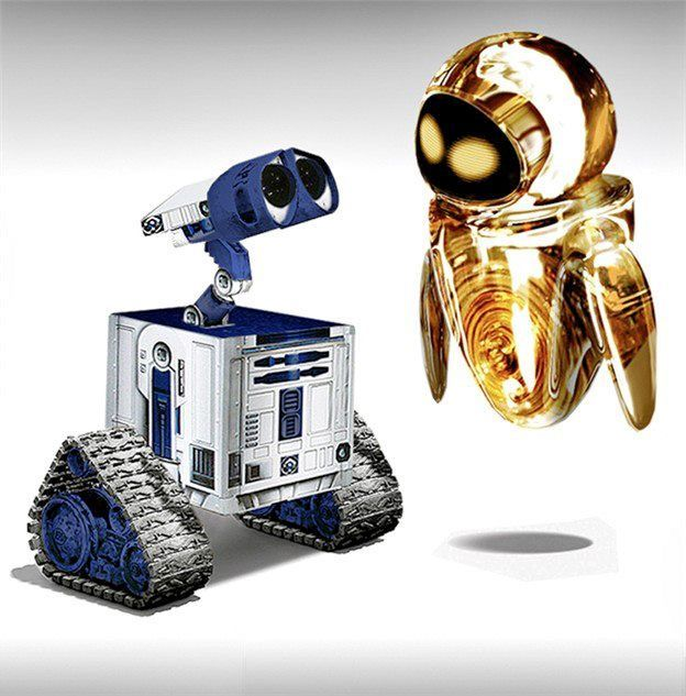 Wall-E & Eve Join The 'Star Wars' Universe