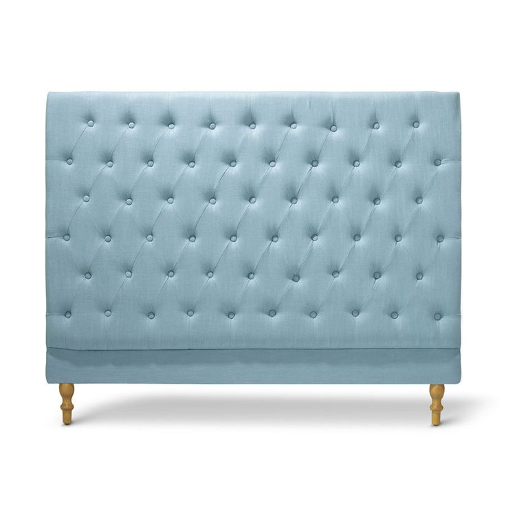 Charlotte Chesterfield Bedhead Double Size Teal - Black Mango