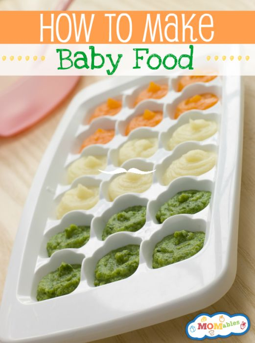 A complete range of homemade babyfood recipes, from first foods to full