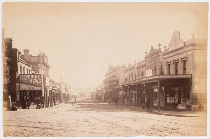 Bondi Junction in eastern Sydney in 1890.
