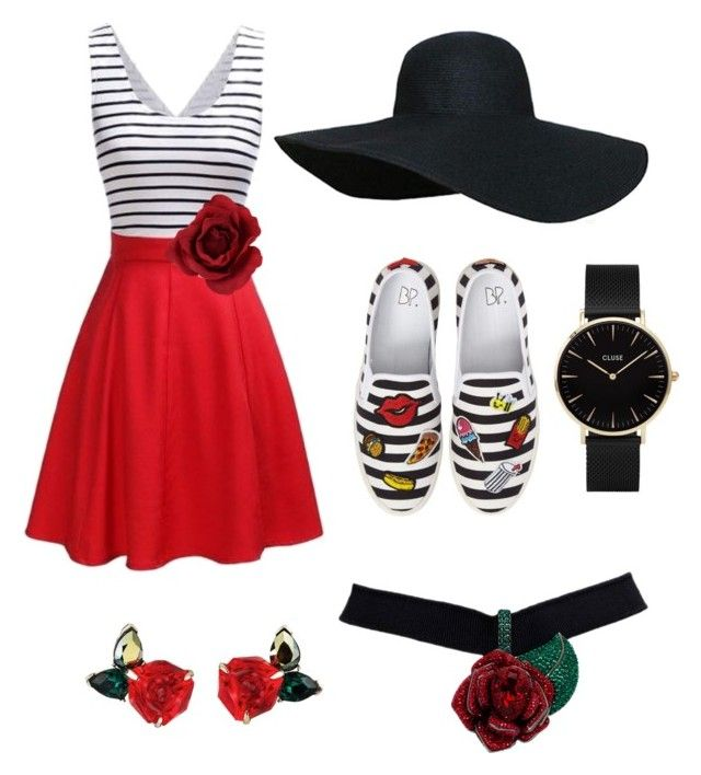"""Sin título #2"" by maria-ines-peralta-arevalo on Polyvore featuring moda, BP. y CLUSE"