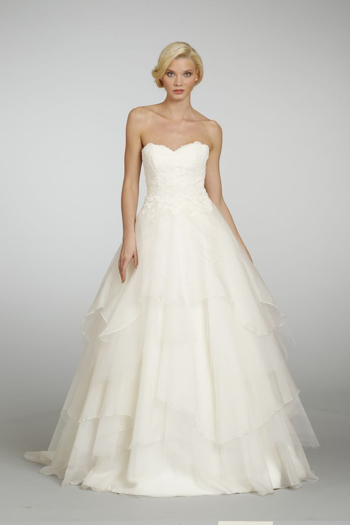 Spring 2013 Wedding Dress Hayley Paige bridal gowns: Dresses Wedding, Wedding Dressses, Dresses Style, Ball Gowns, Bridal Dresses, Spring Wedding, Wedding Dresses, Bridal Gowns, Hayley Paige