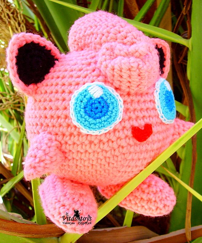 Pokemon Amigurumi - Jigglypuff! by Jen B | Project | Crochet ... | 800x664
