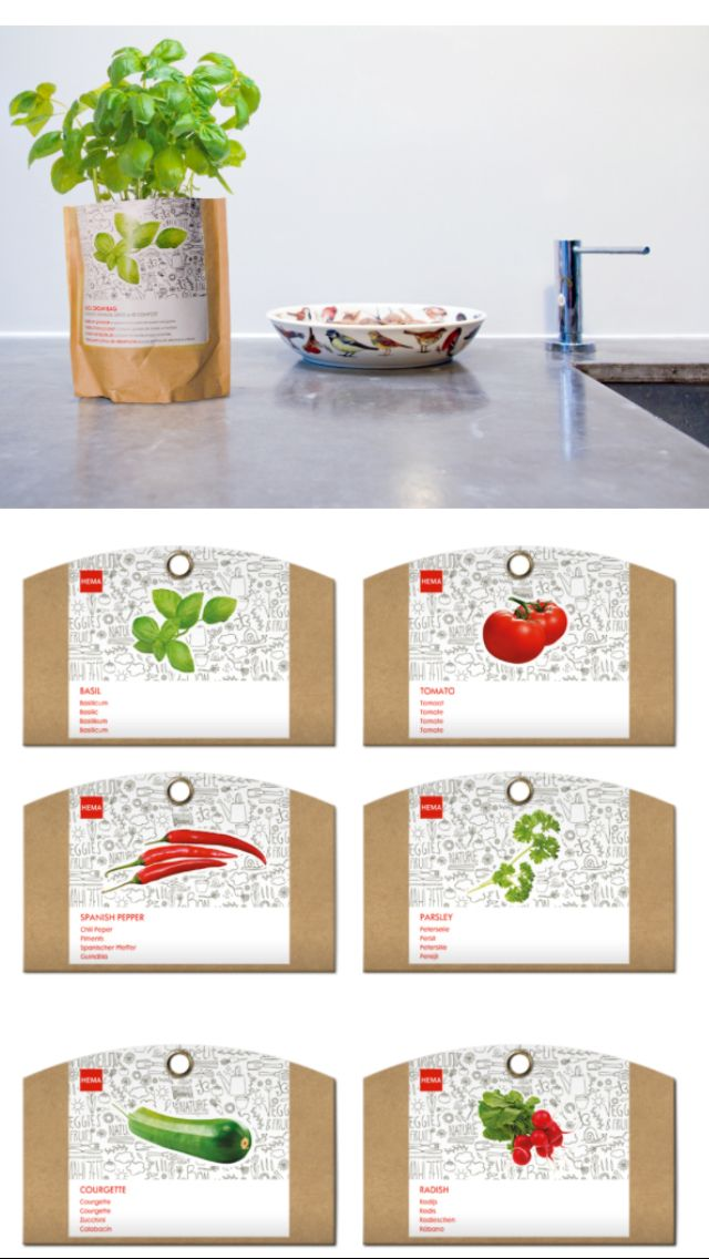 Grow it your own HEMA //Design by Studio Kluif // Managing concept ...