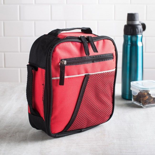 The perfect lunch bag those constantly on the go. Whether you're an athlete, a gym enthusiast or you commute a lot for work, the KSP Sport Insulated Lunch Bag is a great choice for your active lifestyle.