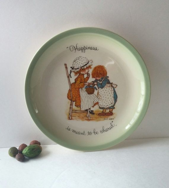 Kitchen Wall Decor Holly Hobbie Decorative Plate Wall