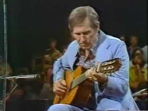 "One of the true greats of guitar, Chet Atkins - ""Autumn Leaves"""