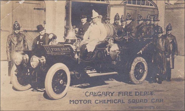 RP: Motor Chemical Squad car , Calgary Fire Department , CALGARY , Alberta , Canada , PU-1910