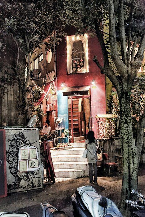 Perhaps Something Oddly Secretive - Harajuku, Japan. I dreamed this place.