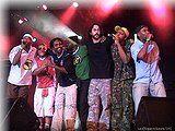 Show de 10 anos da banda Nocaute em 2004 na casa de show Olimpo.